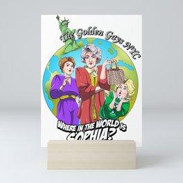Where in the World is Sophia? Josh Dunbar cartoon Mini Art Print