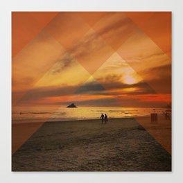 Translucent Sunset Canvas Print