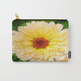 Beautiful Yellow Marigold Goldbloom Close Up  Carry-All Pouch