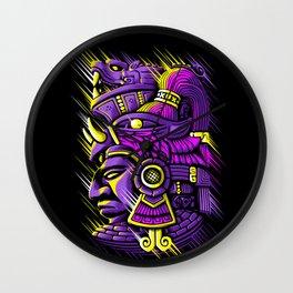 Psychedelic maya Wall Clock