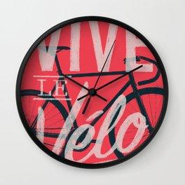 Vive Le Velo 2011 Wall Clock