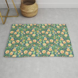 Rosie bed - YELLOW Rug