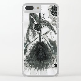 sweep Clear iPhone Case