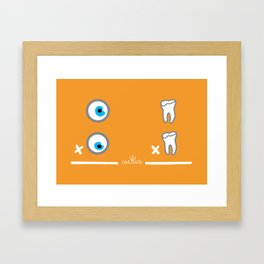 OJO POR OJO, DIENTE POR DIENTE (aka AN EYE FOR AN EYE) Framed Art Print