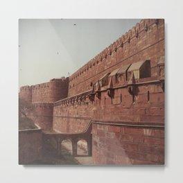 Red Fort - Delhi, India Metal Print