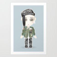 G-Dragon from Big Bang Art Print