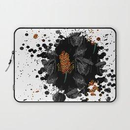 Australian Native Floral Graphic Print Laptop Sleeve