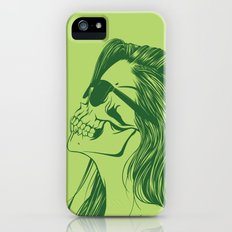 Skull Girl 2 iPhone (5, 5s) Slim Case