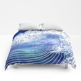 Pacific Waves II Comforters