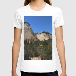 Checkerboard Mesa At Zion T-shirt