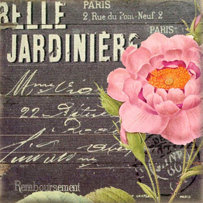 Vintage Flowers #5 Duvet Cover