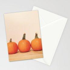 Pumpkin Trio Stationery Cards