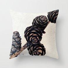 Cones Throw Pillow