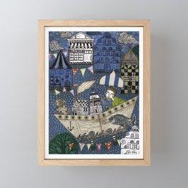 September Day Framed Mini Art Print