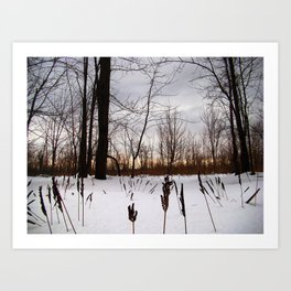 Love Gives Me Chills Art Print