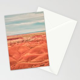Painted Desert. Arizona. USA. Stationery Cards