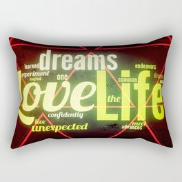 LIFE IN THE WOODS Rectangular Pillow