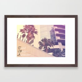 Dubai Framed Art Print