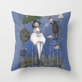 Alice So Tall Throw Pillow