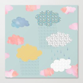 Cloud Shapes and Patterns. Canvas Print