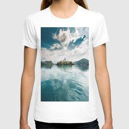 bled lake T-shirt
