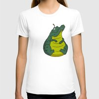 pear T-shirts featuring Alligator Pear by Chris Piascik