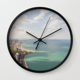 Lake Shore Drive Wall Clock