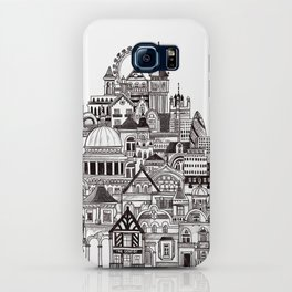 London pencil lines iPhone Case