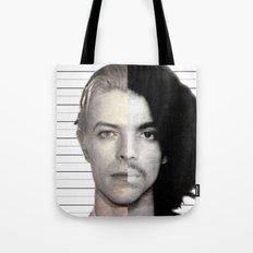 BOWIE + PRINCE Mugshot Tote Bag