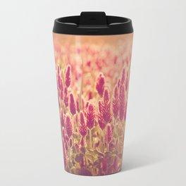 Crimson Clover Patch Travel Mug
