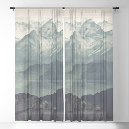 Mountain Fog Sheer Curtain