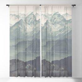Mountain Fog Sheer Curtain