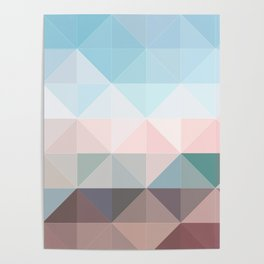 Apex geometric Poster