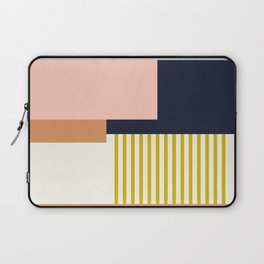 Sol Abstract Geometric Print in Multi Laptop Sleeve