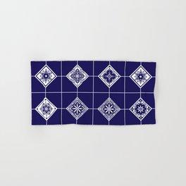 Talavera Mexican Tile – Porcelain Palette Hand & Bath Towel