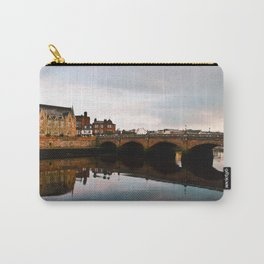 Reflection Of Ayr Auld Bridge  Carry-All Pouch
