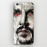johnny depp iPhone & iPod Skins featuring Johnny Depp by KlarEm