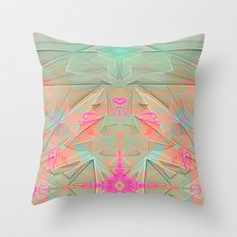spatiality Throw Pillow