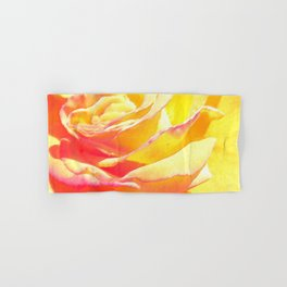 Love and Peace Pastel Rose Hand & Bath Towel