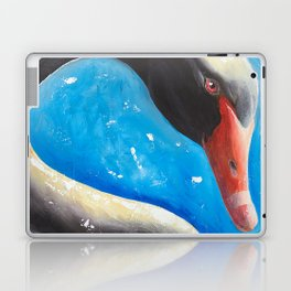 "Black swan - ""Sun bath"" - by LiliFlore Laptop & iPad Skin"