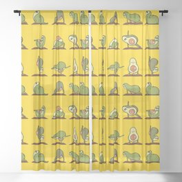 Strengthen My Avo- Coredo Sheer Curtain