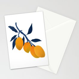Gouache Mangoes Stationery Cards