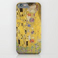 The Kiss by Gustav Klimt iPhone 6 Slim Case