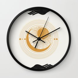 Magic Touch  Wall Clock