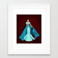 jasmine Framed Art Prints featuring Jasmine by Katherine Mary