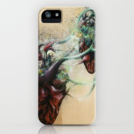 Arrested Vascular Fusion of Two Entities in Need iPhone Case