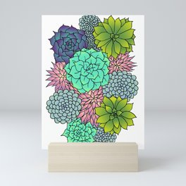 Succulents Mini Art Print