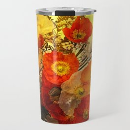 Poppy Expressions Travel Mug