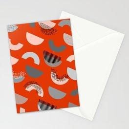 Half-circles Stationery Cards