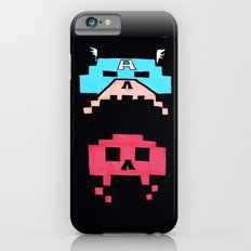 Captain America  & Red Skull space invaders iPhone 6s Slim Case